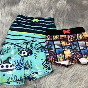 Cat jack baby boys board short bundle 9m